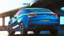 According to Nissan, the Lannia draws on the spirit of the its Bluebird range of cars