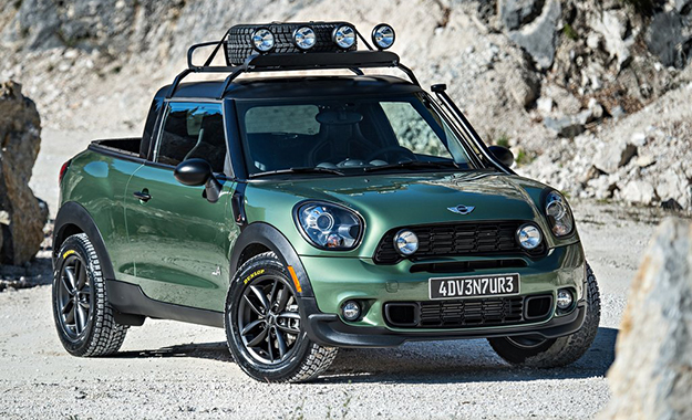 The Mini Paceman Adventure is the latest radical concept to emerge from Dingolfing's design department