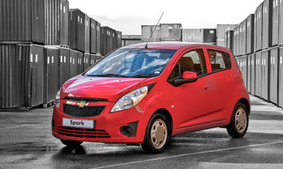 Chevrolet Spark Campus front view