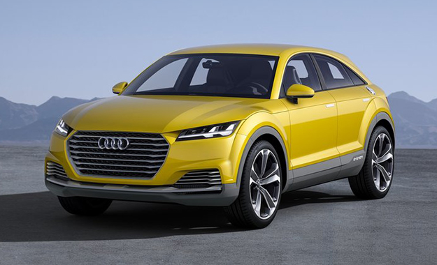 Audi has lifted the wraps off the TT Offroad Concept