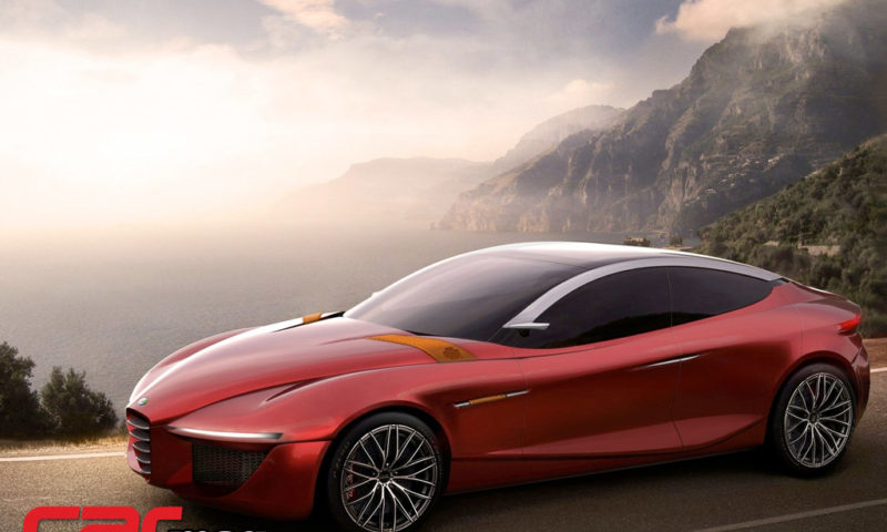 Alfa Romeo Gloria Concept Wallpaper