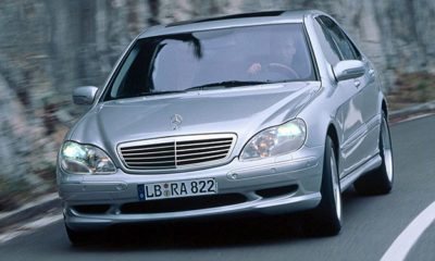 Mercedes-Benz S-Class front view