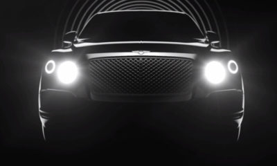 Bentley SUV teased in video