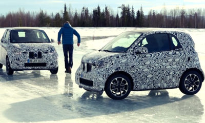New Smart Fortwo and Forfour teased [w/video]
