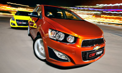 Chevrolet Sonic RS vs. Suzuki Swift Sport