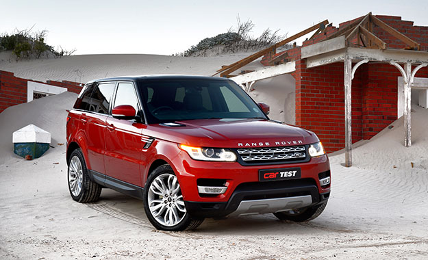 Range Rover Sport SCV6 HSE front view