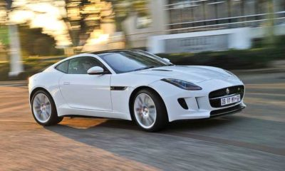 Jaguar F-Type Coupe R front