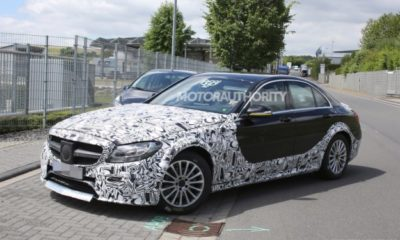 First test mule of 2016/17 Mercedes-Benz E-Class spotted