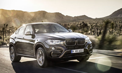 Following an early leak, BMW has released official images of its new X6.