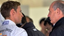 Ron Dennis (right) told Jenson Button (left) to deliver better performances as the season progress