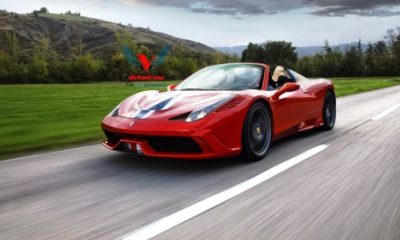 Rendered 458 Speciale Spider: will Ferrari built it?