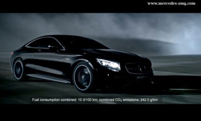 Mercedes-Benz S63 AMG Coupe promo revealed [w/video]
