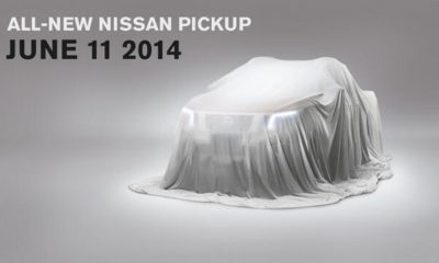 New Nissan Navara teased [w/video]