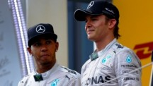 Nico Rosberg (right) and Lewis Hamilton expected to give another strong showing at Silverstone