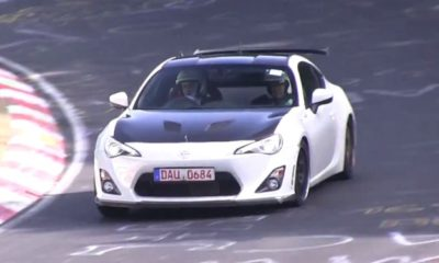 Toyota 86 Club Racer Spied at the 'Ring