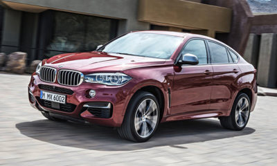 BMW has officially unveiled the 2015 BMW X6