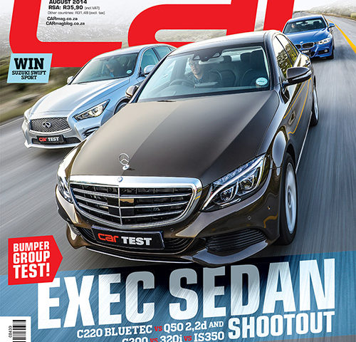 The August 2014 Issue of CAR magazine