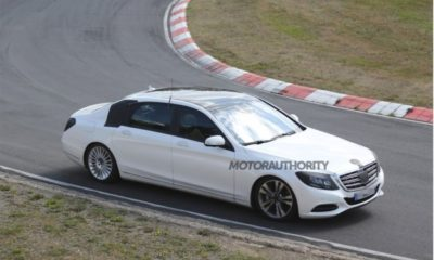 2015 Mercedes-Benz S-Class Maybach will feature an extra 20 cm of legroom