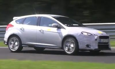 Ford Focus RS test mule with 2.3-litre engine