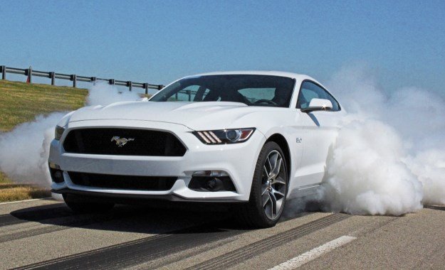 Ford Mustang powers up