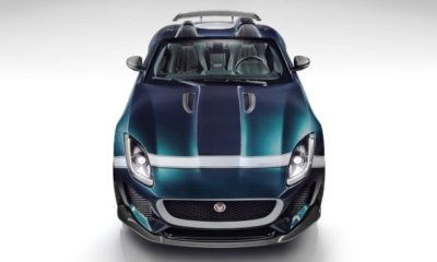 The 1,6-litre engine of the Jaguar C-X75 Hypercar is being condidered for the lighter F-Type Project 7