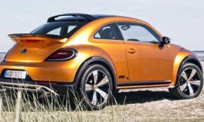 VW Beetle Dune rear