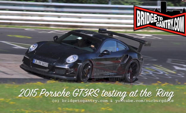 991 Porsche GT3 RS spotted at the 'Ring