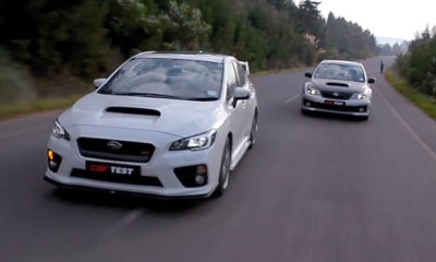 Subaru WRX STI - Old versus New