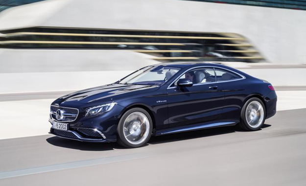 Mercedes-Benz S65 AMG Coupe front