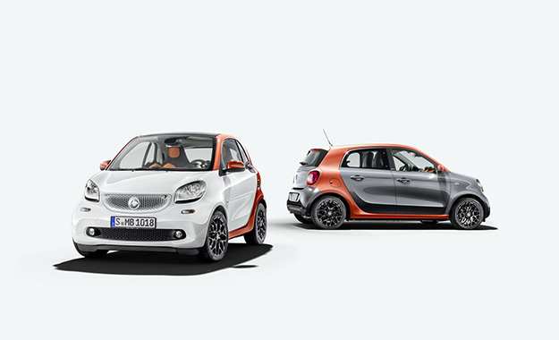 Smart ForTwo and ForFour revealed.
