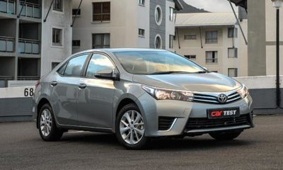 Toyota Corolla front view