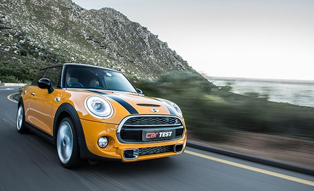 The Cooper S Finish Is Evocatively Named Volcanic Orange