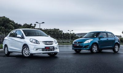 Suzuki Swift DZire 1,2 GL vs. Honda Brio Sedan 1,2 Comfort