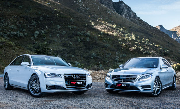 Audi A8L 4,2 TDI vs. Mercedes-Benz S500 BE