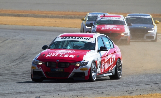 Johan Fourie in the BMW 335i dominated proceedings