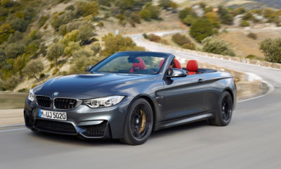 BMW M4 Convertible front