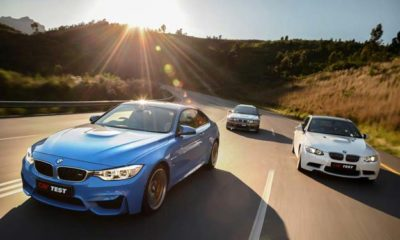 BMW M3/M4 generational comparison