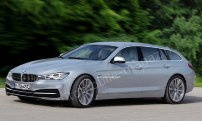 Artist impression: BMW 6-Series Gran Tourer