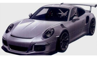 Porsche GT3 RS patent photo