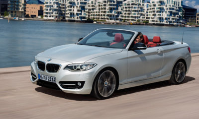 BMW 2 Series Convertible front