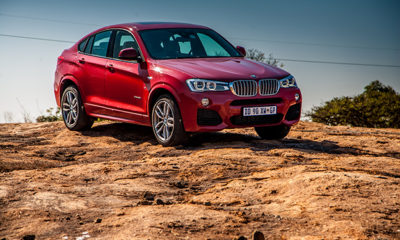 BMW X4 front three-quarter image