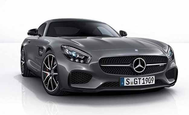 The Mercedes-AMG GT Edition 1 will usher in a host of carbon-fibre styling additions