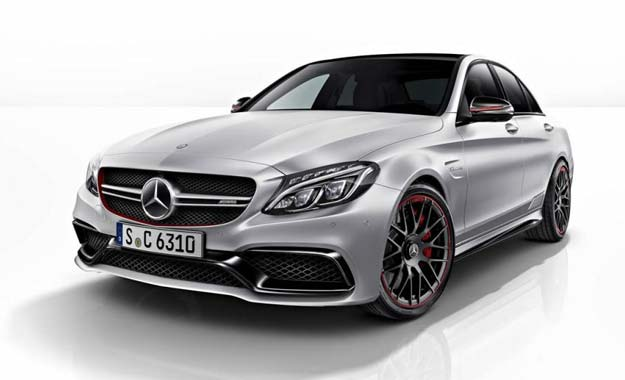 Mercedes-AMG C63 AMG front