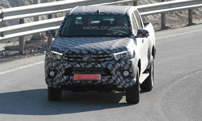 Toyota Hilux front spy image