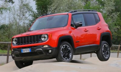 Jeep Renegade front