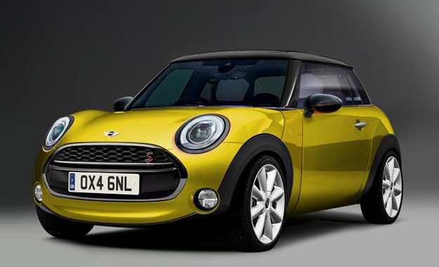 Rendering of the proposed Mini city car