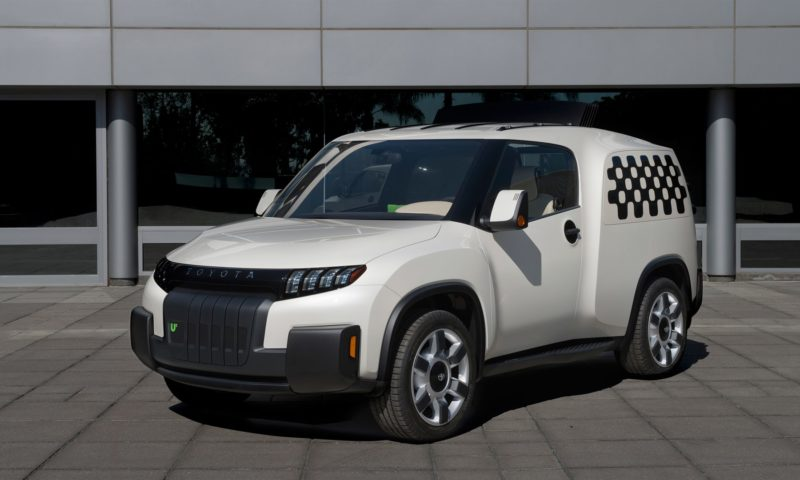 Toyota U2 concept: it's about functionality