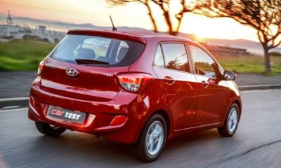 Hyundai Grand i10 1,25 Fluid rear view