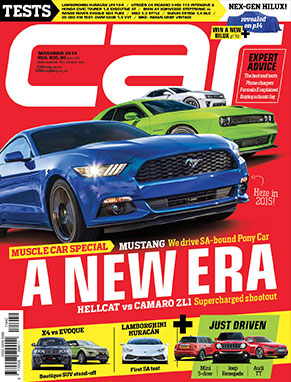 The November 2014 Issue of CAR magazine