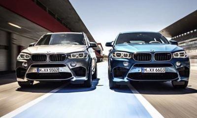 BMW X5 M and X6 M front